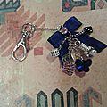 Porte clés, bijou de sac inspiré de beautiful disaster