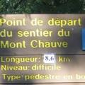 2006 Octobre - Mont Chauve