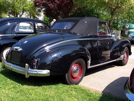 PEUGEOT 203 Cabriolet Randonnee des Vieilles Soupapes St Clementaises 2009 2
