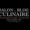 Salon du blog culinaire a paris le 11 avril