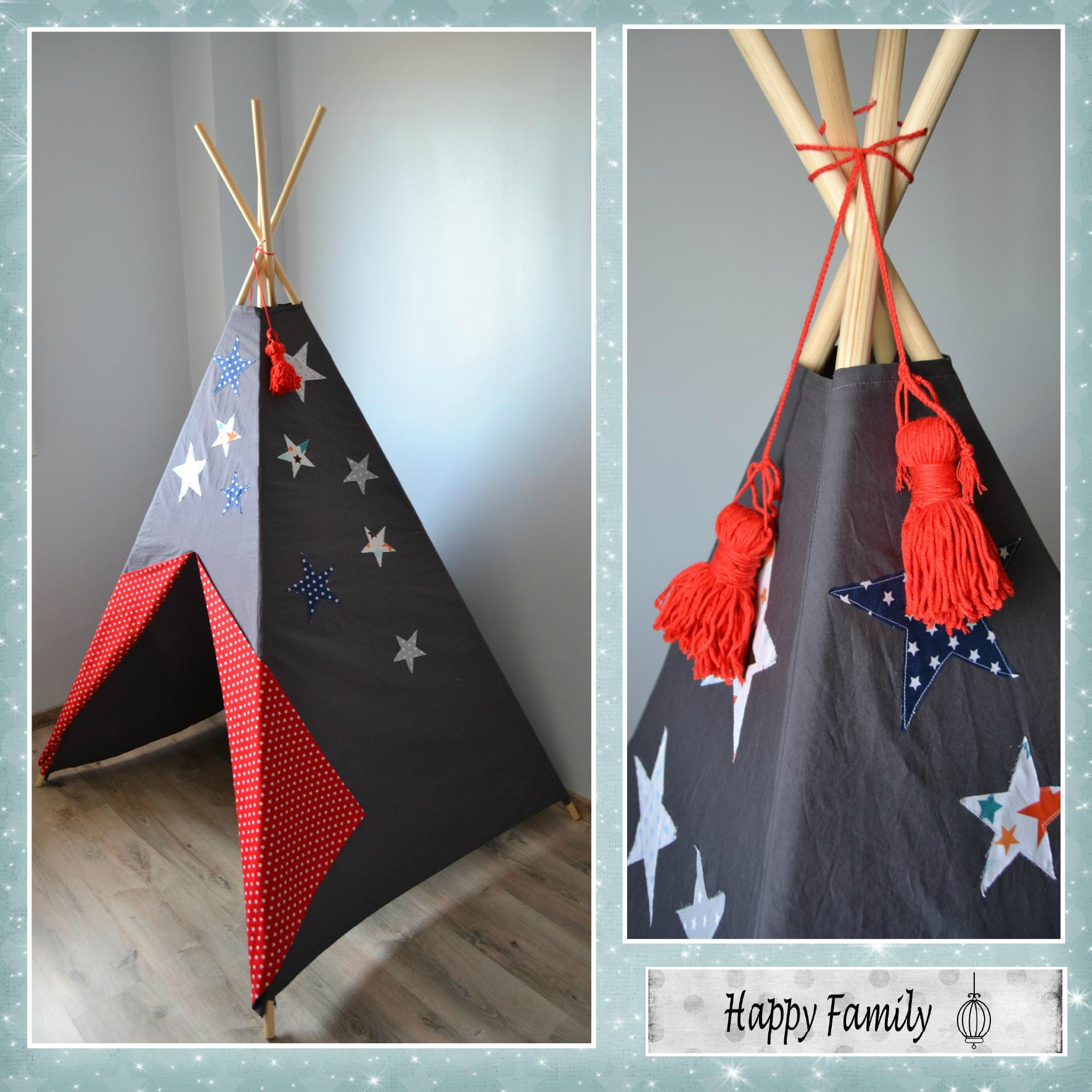 tuto couture tipi. Black Bedroom Furniture Sets. Home Design Ideas