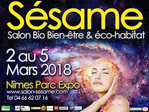 Retrouvez Les Jardins De Tara du 2 au 5 mars sur le salon bio SÉSAME à Nîmes (30)