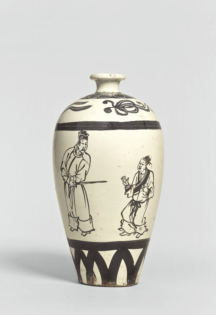 A 'Cizhou' inscribed meiping , Song dynasty