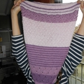 3 color cashmere cowl