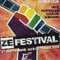 Zefestival 2012 affiche annonce