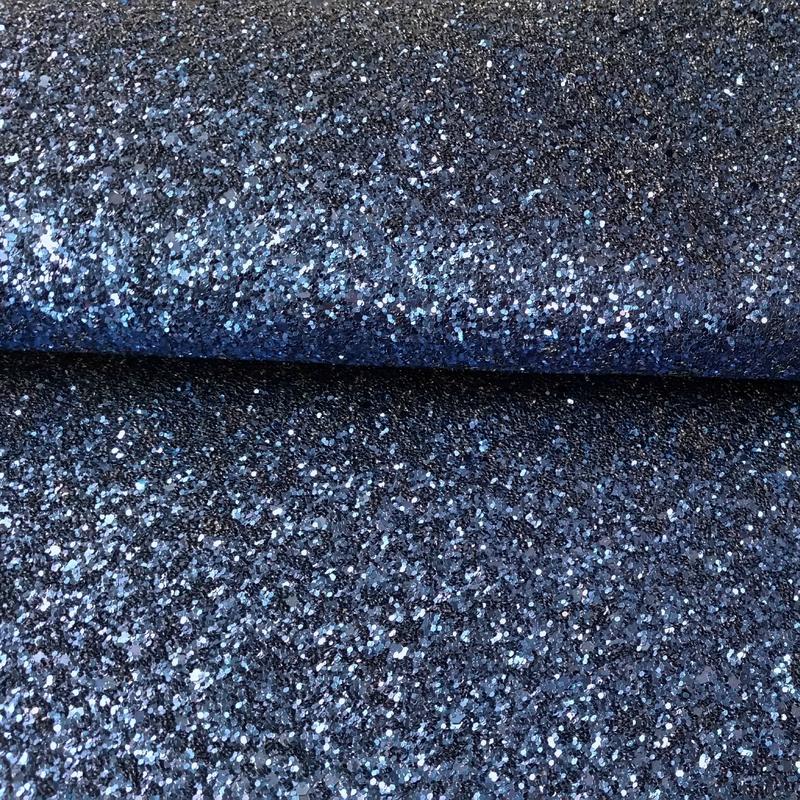 Toile glitter marine 2