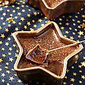 Crèmes brulées au chocolat #noël vegan