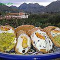 Les cannolis siciliens