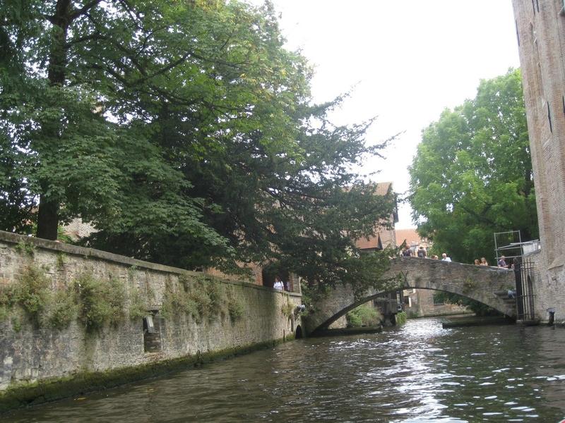 croisière à Bruges, Belgique