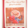 recettes gourmandes - chocolat- rayures rouge