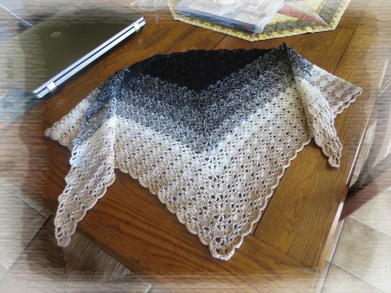 Châle crochet (3)