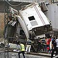Déraillement en espagne: 78 morts et 143 blessés: les condoléances des associations de droit belge aux familles des victimes