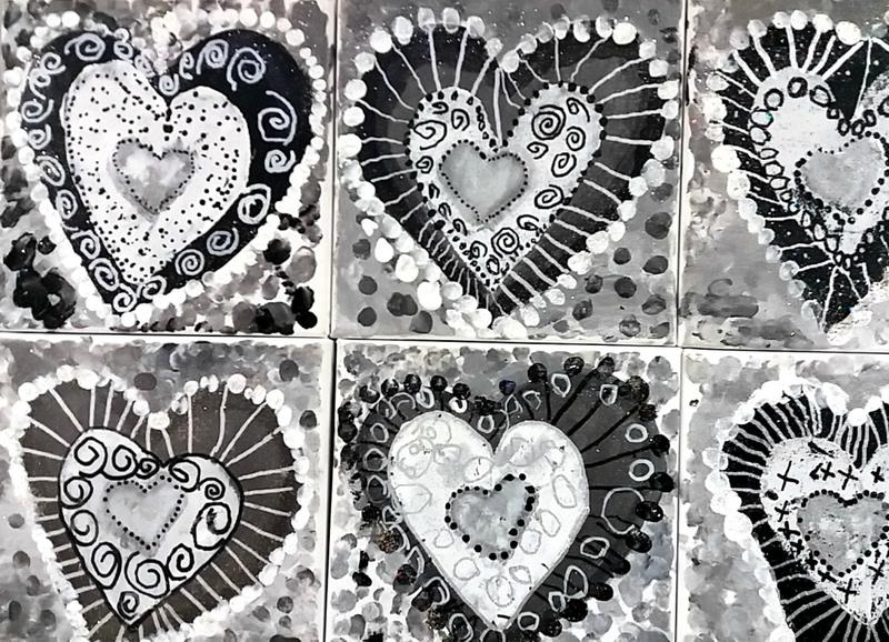 277_Noir et Blanc_Coeurs en noir et blanc (53)