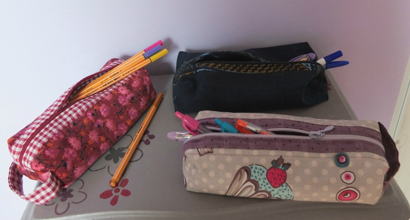 Ma p riode trousses d 39 cole made by mummy - Tuto trousse d ecole ...