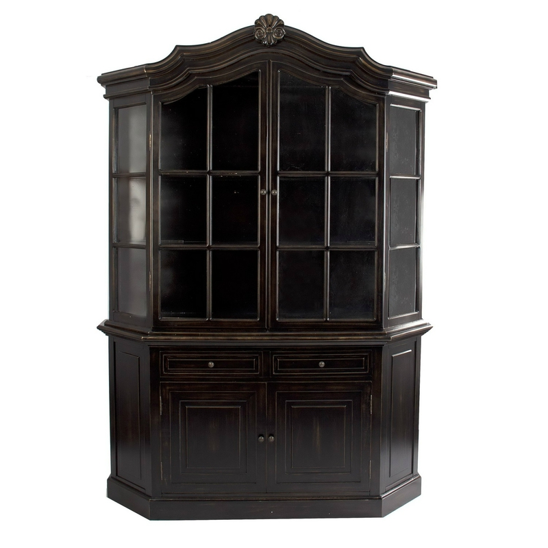 vaisselier ch ne fonc ancien meubles vical home. Black Bedroom Furniture Sets. Home Design Ideas