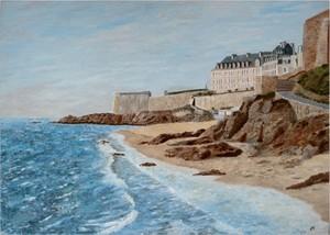 2009- Saint Malo -70x50-