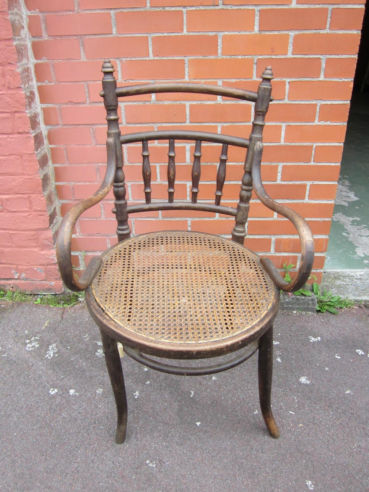 Quelques trouvailles relooker sont arriv es ma bulle - Petit fauteuil ancien ...