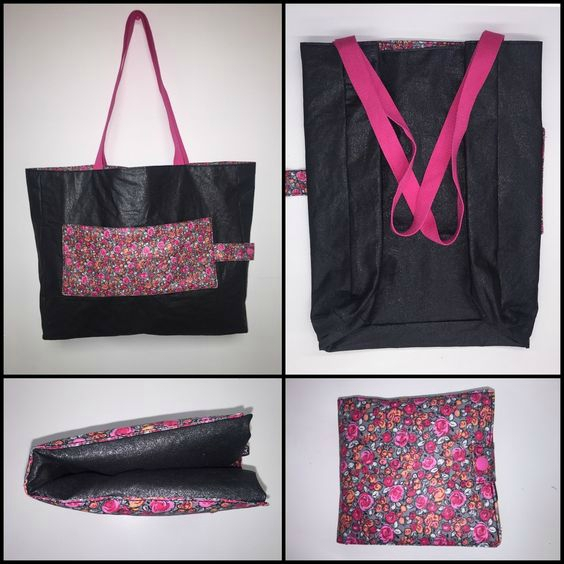 Atelier du vendredi 2 Décembre : Couture, sac pliable