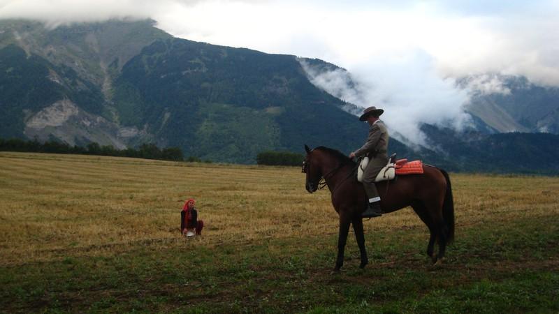 Tom Leparquois flashe sur les montagnes