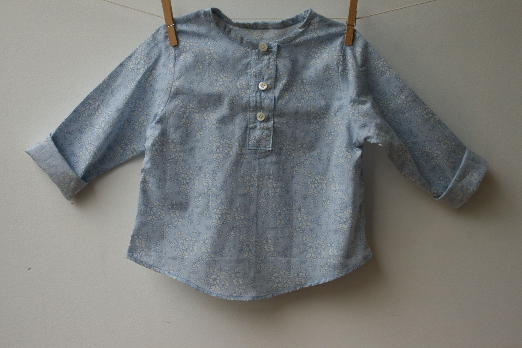 Blouse little boy 12