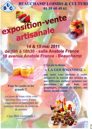 affiche_gourmandise_expo_beauchamp_2011