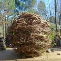 boule de lianes tressées yurtao