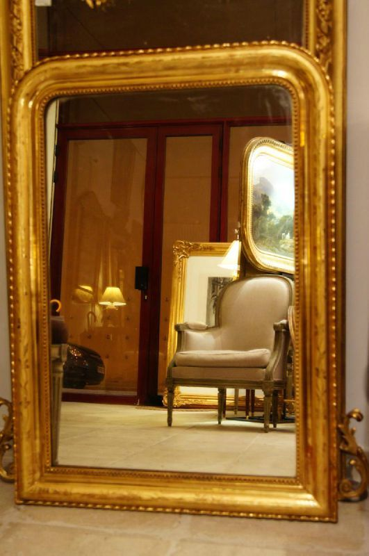 comment reconnaitre miroir louis philippe. Black Bedroom Furniture Sets. Home Design Ideas