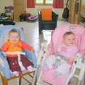 Enola & Alicia 6 mois