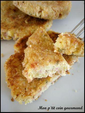 croquette de jambon