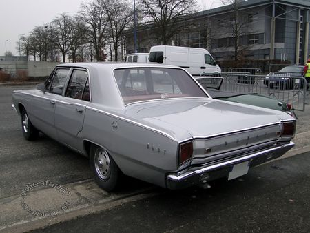 dodge dart 4door sedan 1967 salon champenois vehicule collection reims 2012 2