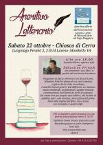 Affiche Aperitivo Letterario Laveno Mombello 22 10 2016