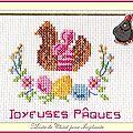 Échange ATC Perso (Pâques) Marie de Clessé pour Isaphanie 1