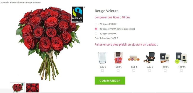 bouquet de roses rouges aquarelle