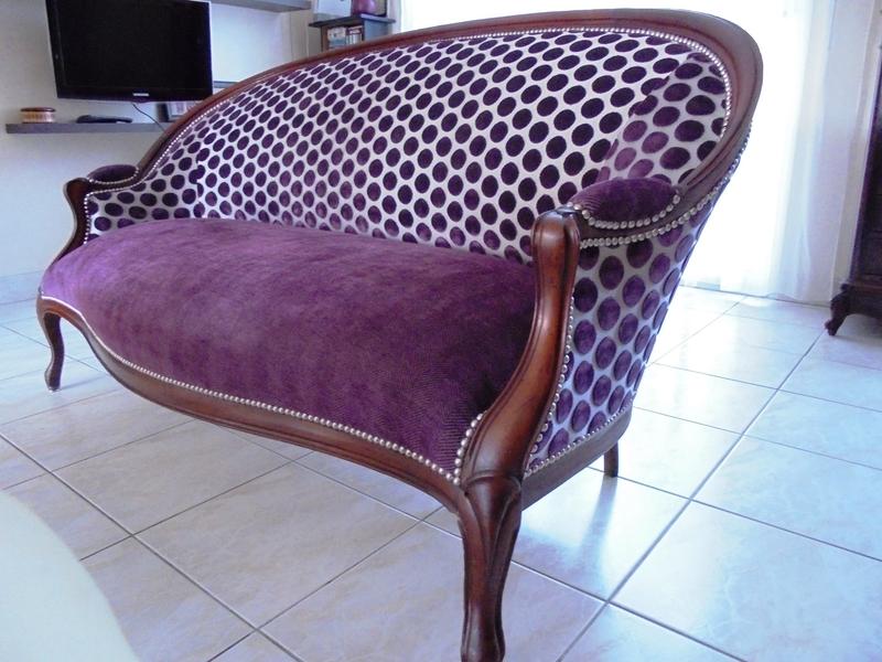canap louis philippe stephane poissel tapissier d corateur. Black Bedroom Furniture Sets. Home Design Ideas