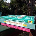 Les nouveautés fleurus pour petits et ados du mois d'octobre : livres et album photos de classe et souvenirs d'école