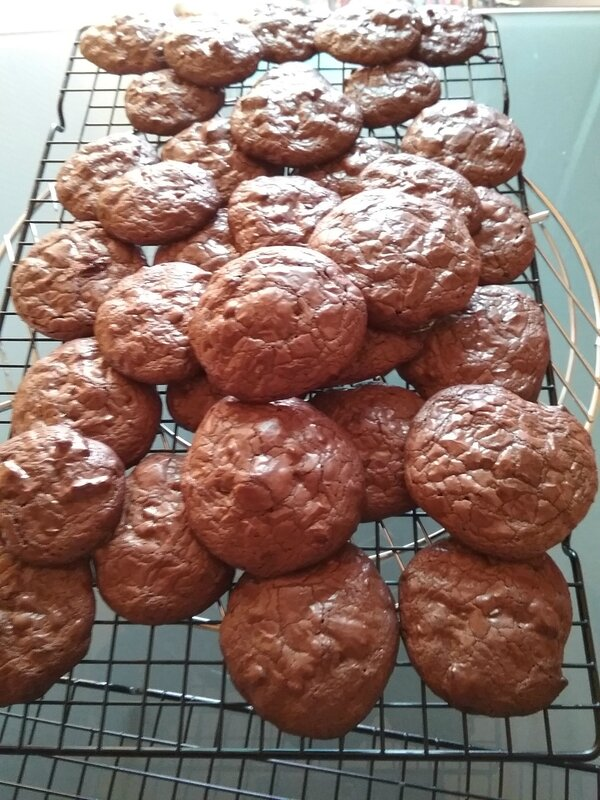 Cookies Brownies au chocolat 022