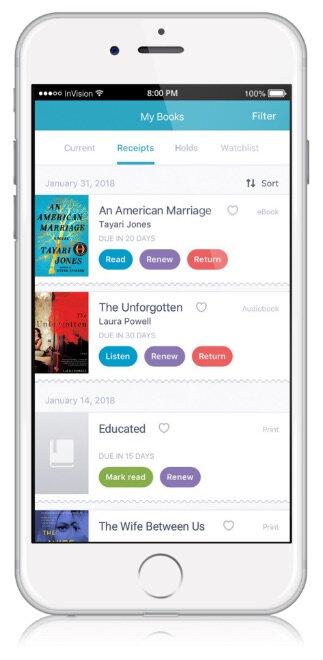 Simplification de l'accès aux services de la bibliothèque grâce à une application mobile