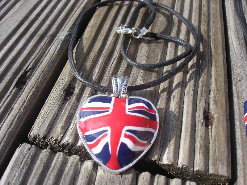 pendentif coeur UK