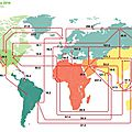 energie-petrol-How oil flows in and out of every major region around the world
