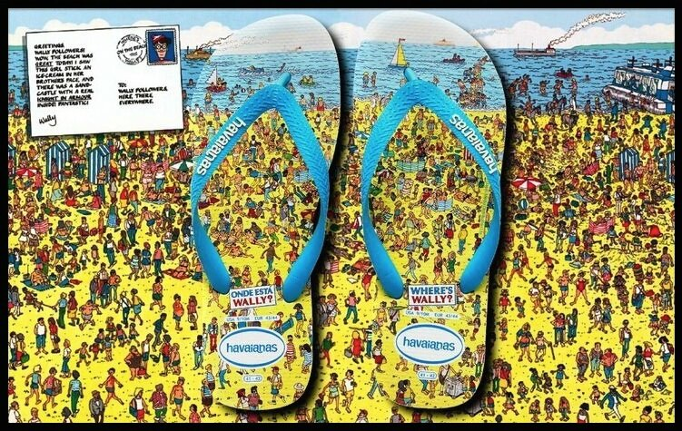 4b00391b774 Tongs Where s Wally   - Collection 2014 - Havaianas - Le Blog de Moon