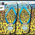 Tongs where's wally ? - collection 2014 - havaianas