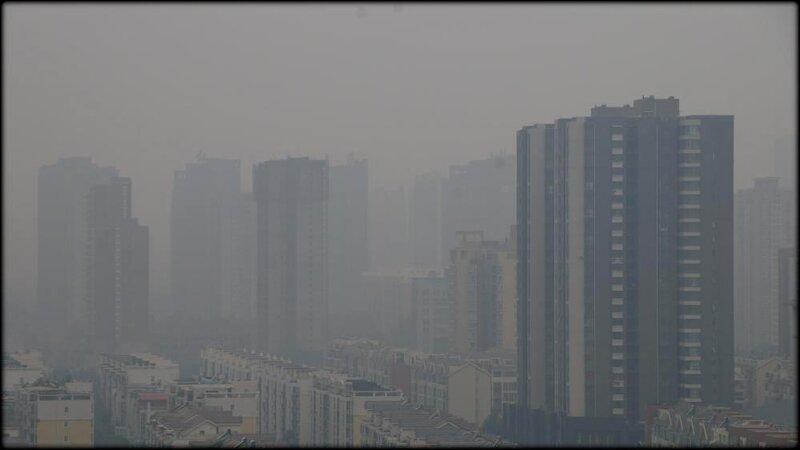 ZHENGZHOU_CHINE_POLLUTION