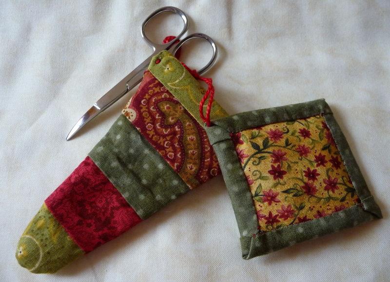 Country scissors case