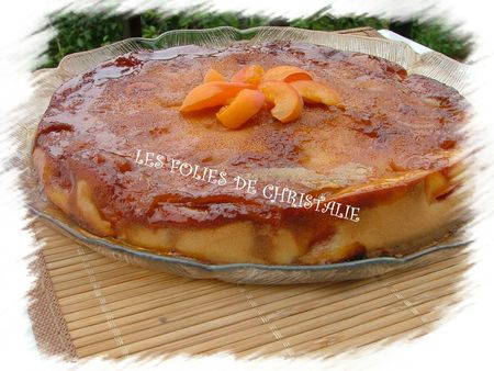 Gâteau abricot caramel 9