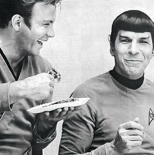 William Shatner & Leonard Nimoy, 1968