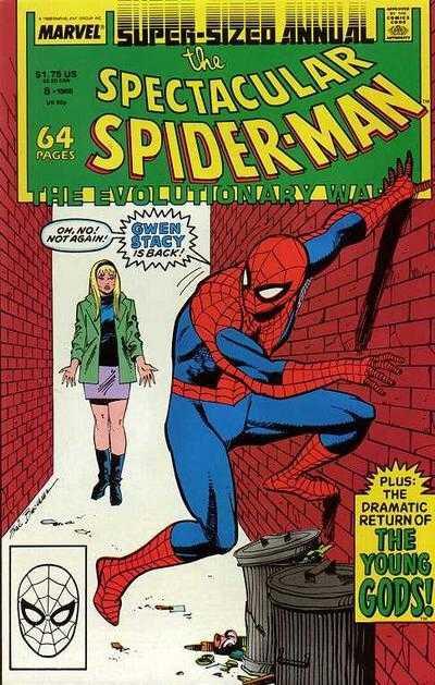 spectacular spiderman annual 08 1988 the evolutionary war