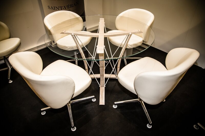 table dégustation, chaise haute de bar, tabouret de bar, chaise de cuisine, chaise haute cuisine, chaise de comptoir,douelledereve,barrique champagne,douelle champagne,