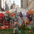 Jardin partagé (rue Fessart, dans le 19ème)