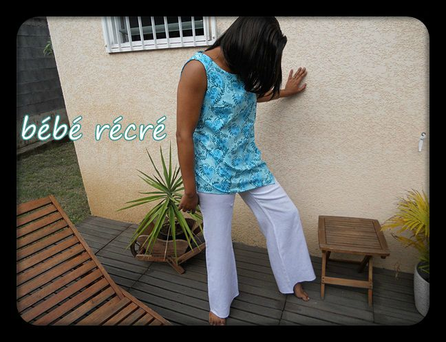 ensemble tunique pantalon