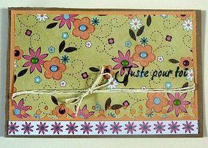 PERLETTE - valérie maes - carte n° 1 - consignes